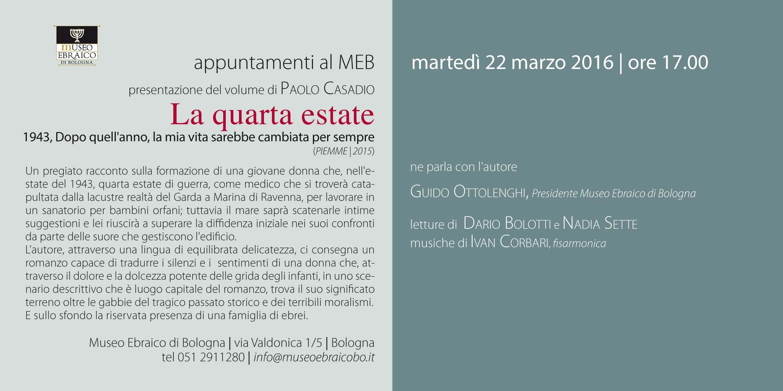Invito Quarta Estate