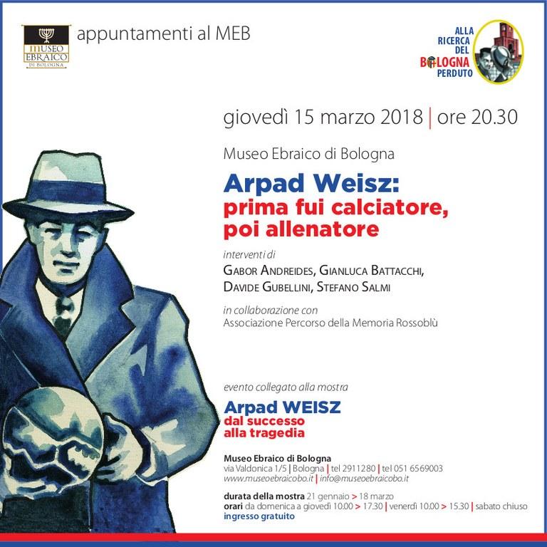 invito conf Weisz marzo 2018