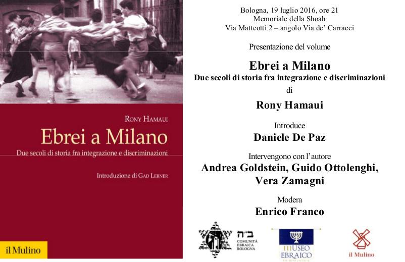 Invito Ebrei a Milano