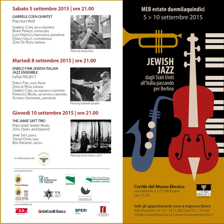 Jawish Jazz ultimo 2015