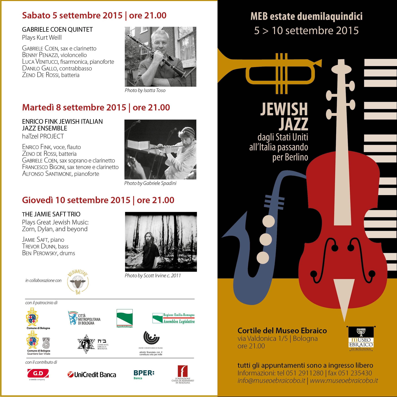 Jawish Jazz ultimo 2015