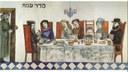 Emanuele Luzzati. Seder di Pesach, 1988