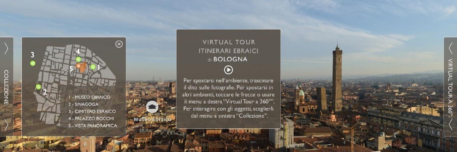 Apri il sito UCEI con il Virtual Tour